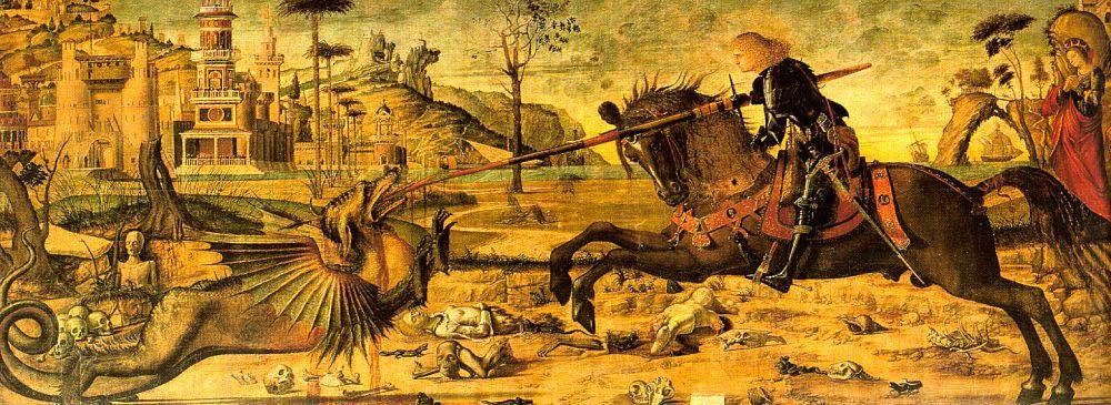 C'est la Saint Georges Georges-carpaccio