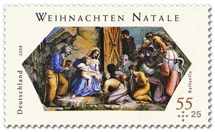 Allemagne - Adoration des Mages (Raphaël)