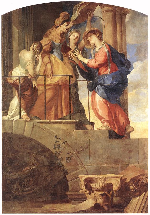 Tableau de La Visitation de pierre Puget